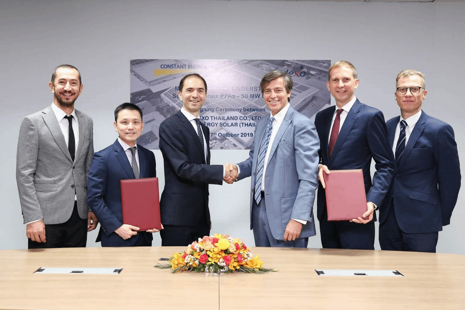 Sodexo Thailand and Constant Energy sign MOU on solar electricity solutions