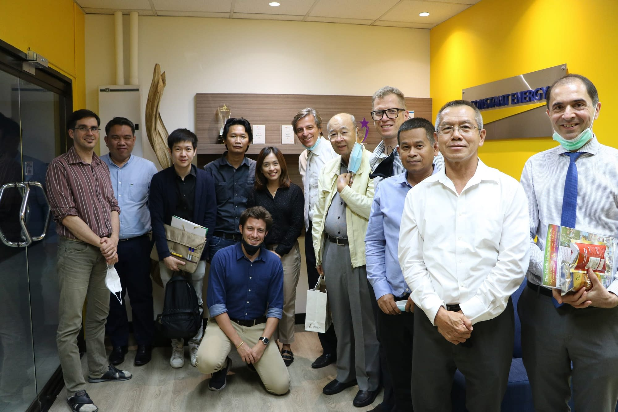 Mechai Foundation visiting Constant Energy for joint CSR activities