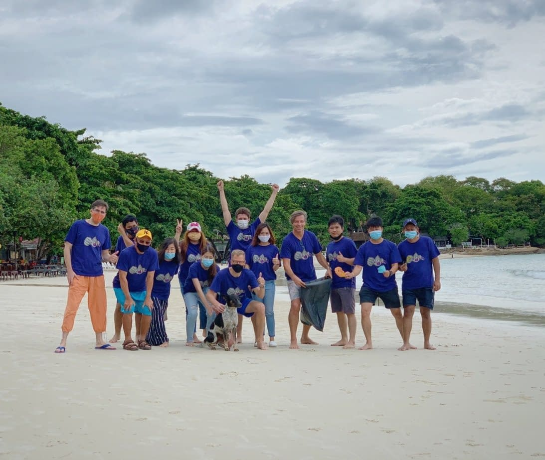 Constant Energy's first team outing trip at Koh Samet