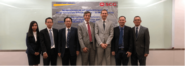 Siam Cement Group and Constant Energy set to deploy 50 MW solar under Corporate PPA business in Thailand