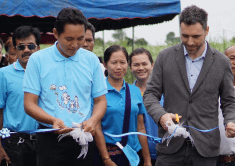 Constant Energy renovates 1 km of access road to improve local community access